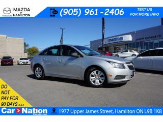 Used 2014 Chevrolet Cruze 1LS LS | XM RADIO | CD PLAYER | AUX INPUT for sale in Hamilton, ON
