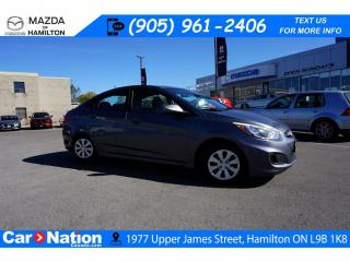Used 2016 Hyundai Accent GL | AS-TRADED | XM RADIO | HEATED SEATS for sale in Hamilton, ON