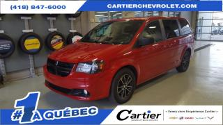 Used 2016 Dodge Grand Caravan BLACK TOP * STOW N GO * A/C TRIZONE for sale in Québec, QC