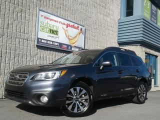 Used 2016 Subaru Outback 3.6r*limited*102$/sem*gps*toit*cuir*camÉra*awd* for sale in Richelieu, QC