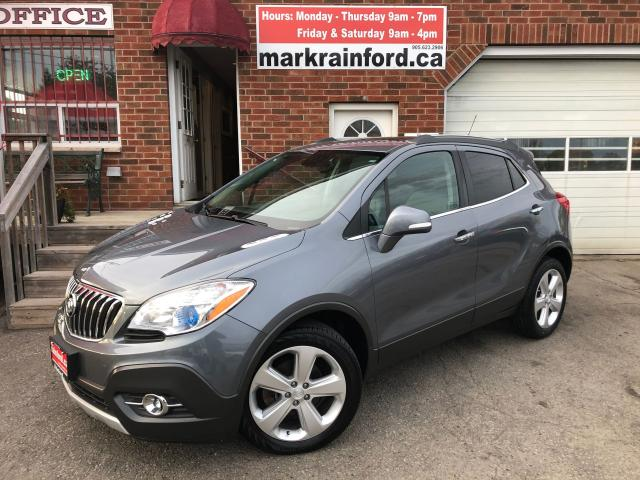 2015 Buick Encore Leather Sunroof Back Up Cam Bluetooth