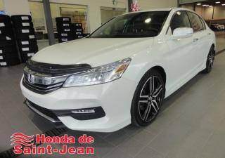 Used 2016 Honda Accord 4 portes V6 Touring Navi Cuir Toit Camer for sale in St-Jean-Sur-Richelieu, QC