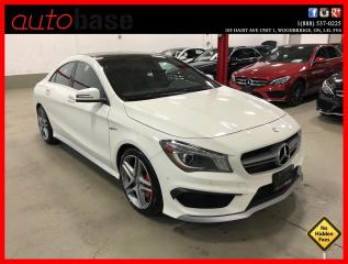 Used 2016 Mercedes-Benz CLA-Class CLA45 AMG 4MATIC PREMIUM PLUS PREMIUM KEYLESS-GO for sale in Vaughan, ON