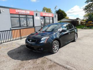 Used 2012 Nissan Sentra SE-R|LOW KM|AUX|ALLOY WHEELS for sale in St. Thomas, ON