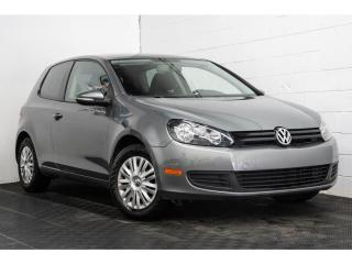 Used 2011 Volkswagen Golf SIÈGES CHAUFFANTS GROUPES ÉLECTRIQUES for sale in Brossard, QC