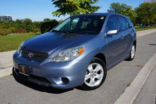 Used 2005 Toyota Matrix DEALER MAINTAINED / LOW KM'S / EXCELLENT CONDITION for sale in Etobicoke, ON