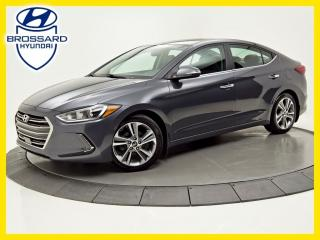 Used 2017 Hyundai Elantra LIMITED ULTIMATE NAV TOIT OUVRANT, CAM DE RECUL for sale in Brossard, QC
