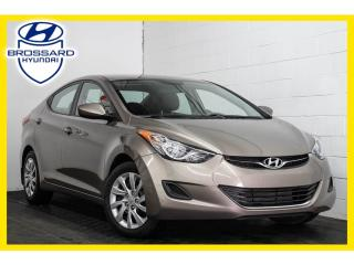 Used 2012 Hyundai Elantra GL, GROUPES ÉLECTRIQUES, SIÈGES CHAUFFANTS for sale in Brossard, QC