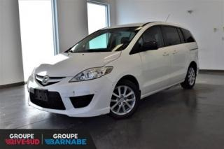 Used 2010 Mazda MAZDA5 GS AUTOMATIQUE || MAGS || AIR CLIM || BAS KM INSPECTÉ BAS KILOMETRAGE for sale in Brossard, QC