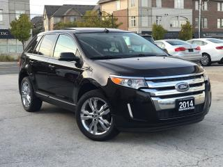 Used 2014 Ford Edge SEL|AWD|Navi|Leather|Sunroof|Rear Camera for sale in Burlington, ON