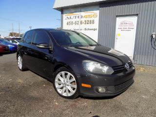 Used 2011 Volkswagen Golf ***SPORTLINE,A/C,TOIT,MAGS*** for sale in Longueuil, QC