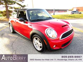 Used 2009 MINI Cooper Cooper S - 6 Speed for sale in Woodbridge, ON