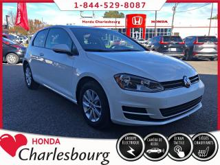 Used 2016 Volkswagen Golf 1.8 TSI Trendline à hayon 3 portes BM for sale in Charlesbourg, QC