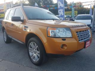Used 2008 Land Rover LR2 HSE-EXTRA CLEAN-LEATHER-SUNROOF-BLUETOOTH-ALLOYS for sale in Scarborough, ON