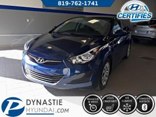 Used 2016 Hyundai Elantra GL for sale in Rouyn-Noranda, QC
