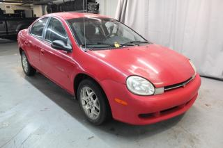 Used 2001 Chrysler Neon (SEULEMENT 107000KM WOW!!) for sale in St-Constant, QC