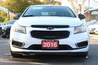 Used 2016 Chevrolet Cruze LT for sale in Brampton, ON