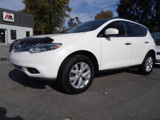 Used 2012 Nissan Murano SL AWD CUIR TOIT PANOR. CAMERA MAGS for sale in St-Eustache, QC