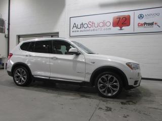 Used 2015 BMW X3 **DIESEL**xDrive28d **AWD**4X4**DIESEL** for sale in Mirabel, QC