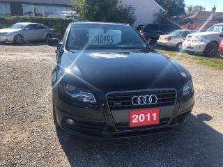 Used 2011 Audi A4 2.0T Premium Plus for sale in Hamilton, ON