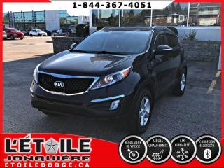 Used 2015 Kia Sportage LX FWD AUTOMATIQUE, CAMERA DE RECUL, A/C for sale in Jonquière, QC