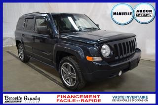 Used 2014 Jeep Patriot Sport +Manuelle, Aucun Carfax+ for sale in Cowansville, QC