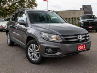 Used 2014 Volkswagen Tiguan Comfortline 4dr AWD 4MOTION for sale in Brantford, ON