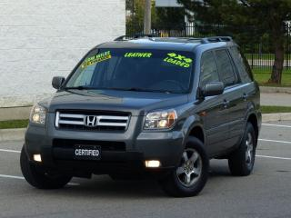 Used 2007 Honda Pilot 4WD,EX-L,LEATHER,LOADED,NO-ACCIDENTS,AUTO-STARTER for sale in Mississauga, ON