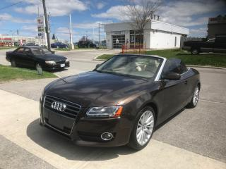 Used 2010 Audi A5 2.0L for sale in Toronto, ON