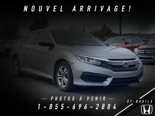 Used 2017 Honda Civic LX 4 portes CVT for sale in St-Basile-le-Grand, QC