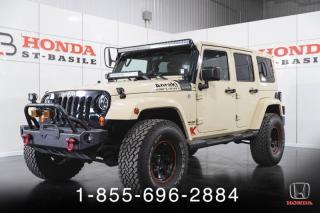 Used 2011 Jeep Wrangler Modèle Sahara 4 portes traction intégral for sale in St-Basile-le-Grand, QC