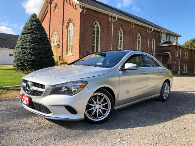 2017 Mercedes-Benz CLA-Class CLA 250 - LEATHER - 4MATIC - SUNROOF - LOADED