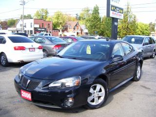 Used 2006 Pontiac Grand Prix Super Low Km's,Alloy,Certified,Spoiler,Ontario Car for sale in Kitchener, ON