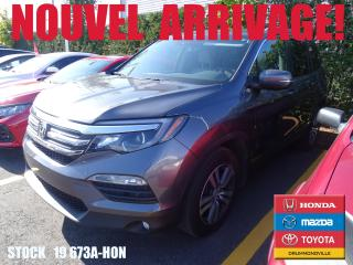 Used 2017 Honda Pilot EX-L+GPS+CAMÉRA+CUIR+BLUETOOTH+TOITOUV++ for sale in Drummondville, QC
