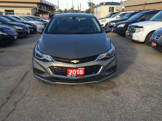 Used 2018 Chevrolet Cruze 4 Dr Auto Backup Camra Alloy Wheels Heated Seats for sale in Etobicoke, ON