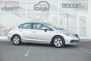 Used 2015 Honda Civic LX ***GARANTIE GLOBALE JUSQU EN MAI 2020 for sale in Québec, QC