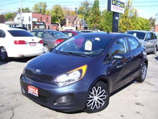 Used 2014 Kia Rio LX+ECO,AUTO,lOW KM'S,CERTIFIED,HEATED SEATS,A/C, for sale in Kitchener, ON