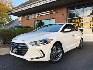 Used 2017 Hyundai Elantra Limited for sale in Concord, ON