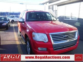 Used 2010 Ford Explorer 4D Utility 4WD for sale in Calgary, AB