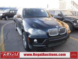 Used 2009 BMW X5 XDRIVE30I 4D Utility 4WD for sale in Calgary, AB