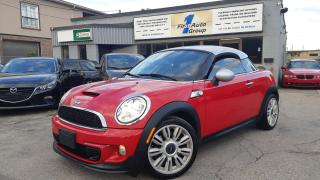 Used 2012 MINI Cooper Coupe S w/Nav for sale in Etobicoke, ON