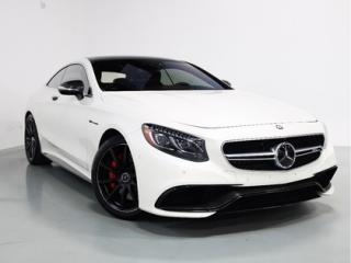 Used 2016 Mercedes-Benz S-Class S63 COUPE   CARBON FIBRE   NIGHT VISION for sale in Vaughan, ON