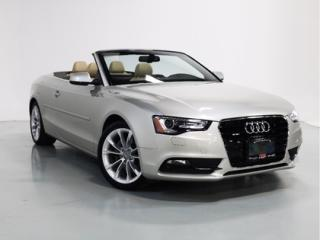 Used 2013 Audi A5 CONVERTIBLE   NAVI   BLINDSPOT for sale in Vaughan, ON