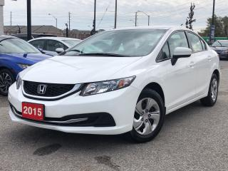 Used 2015 Honda Civic LX, low mileage, one owner for sale in Toronto, ON