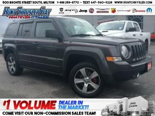 Used 2016 Jeep Patriot HIGH ALTITUDE | AUTO | 4X4 | SUN | NAV!!! for sale in Milton, ON
