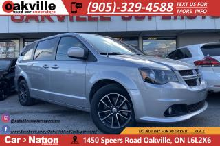 Used 2018 Dodge Grand Caravan GT | PWR DOORS | HTD SEATS | CAPN CHAIRS | LEATHER for sale in Oakville, ON
