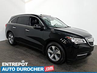 Used 2016 Acura MDX AWD NAVIGATION - Toit Ouvrant - A/C - Cuir for sale in Laval, QC