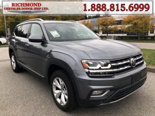 Used 2018 Volkswagen Atlas 3.6 FSI Highline for sale in Richmond, BC