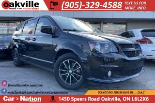 Used 2018 Dodge Grand Caravan GT | HTD SEATS | CAPN CHAIRS | LEATHER for sale in Oakville, ON
