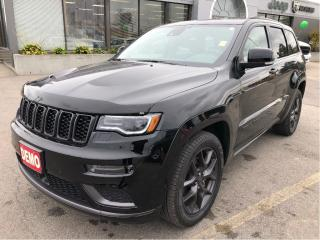 Used 2019 Jeep Grand Cherokee Limited X 4x4 V6 w/Sunroof, Safety Group, Premium for sale in Hamilton, ON